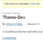 Building a WordPress Theme from Scratch – Starting a Theme